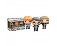 Harry Potter, Ron Weasley and Hermione Granger 3-pack (Эксклюзив) из фильма Harry Potter