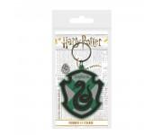 Slytherin Crest Rubber Keychain из фильма Harry Potter