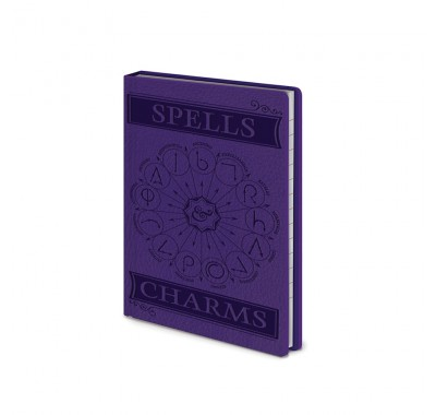 Ежедневник Заклинания и чары (Spells and Charms Notebook) из фильма Гарри Поттер