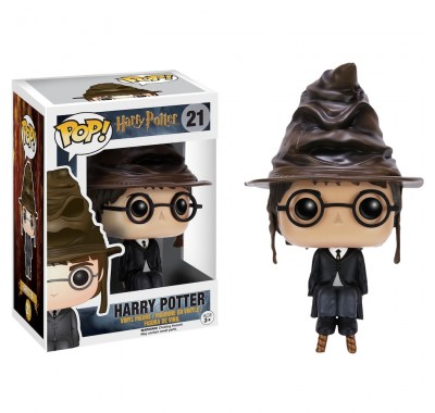 Harry Potter with Sorting Hat (Эксклюзив) из киноленты Harry Potter