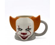 Pennywise Ceramic 3D Sculpted Mug из фильма IT Stephen King