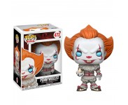 Pennywise Clown with Boat из фильма IT Stephen King