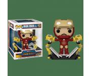 Iron Man Mark IV with Gantry Deluxe GitD (Эксклюзив Previews) из фильма Iron Man 905