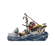 Jaws Great White Shark Eating Quint and Orca Boat Movie Moments (Эксклюзив GameStop) из фильма Jaws