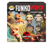Ellie Sattler, Alan Grant, Ray Arnold and Velociraptor Funkoverse Strategy Game 4-Pack (PREORDER ZS) из фильма Jurassic Park
