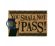 You Shall Not Pass door mat (PREORDER ZS) Pyramid из фильма The Lord of the Rings