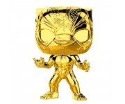 Black Panther gold chrome из серии Marvel Studios: The First Ten Years