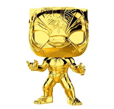 Чёрная Пантера золотой хром (Black Panther gold chrome) из серии Студия Марвел: Первые десять лет