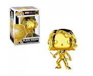 Black Widow gold chrome из серии Marvel Studios: The First Ten Years