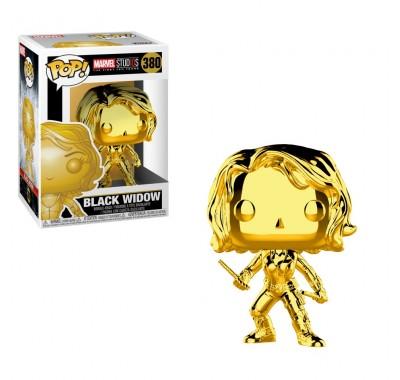 Чёрная вдова золотой хром (Black Widow gold chrome) из серии Студия Марвел: Первые десять лет