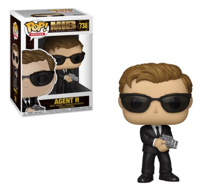 Агент Эйч (Agent H) из фильма Люди в чёрном: Интернэшнл
