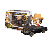 """Bo """"Bandit"""" Darville with Trans Am Rides из фильма Smokey and the Bandit 82"""