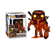 Molten Man GitD со стикером (Gamestop) из фильма Spider-Man: Far From Home Marvel