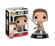 Rey with Lightsaber из киноленты Star Wars Episode VII
