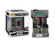 Boba Fett Metallic Bounty Hunters Diorama Deluxe (Эксклюзив Gamestop) (PREORDER mid-MAY) из фильма Star Wars: Episode V – The Empire Strikes Back