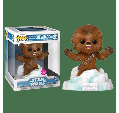 Чубакка Битва на Базе Эхо флокированный (Chewbacca Battle at Echo Base Flocked Deluxe (Эксклюзив Amazon)) из фильма Звездные Войны: Эпизод 5 – Империя наносит ответный удар