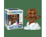 Chewbacca Battle at Echo Base Flocked Deluxe со стикером (Эксклюзив Amazon) из фильма Star Wars: Episode V – The Empire Strikes Back