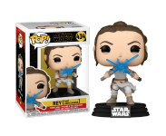 Rey with 2 Light Sabers из фильма Star Wars: The Rise of Skywalker 434