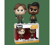 Han Solo and Lando Calrissian Vynl. из фильма Star Wars