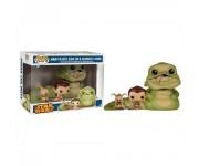 Jabba the Hutt, Slave Leia and Salacious B. Crumb (Эксклюзив Walmart) DAMAGE BOX из фильма Star Wars