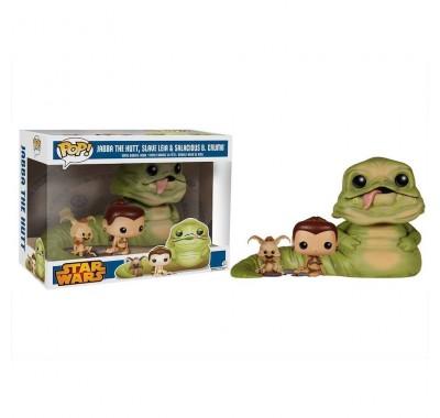 Джабба Хатт, Лея рабыня и Салациус Б. Крамб (Jabba the Hutt, Slave Leia and Salacious B. Crumb (Эксклюзив Walmart)) из фильма Звездные Войны