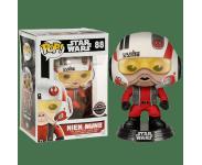 Nien Nunb with helmet со стикером (Эксклюзив GameStop) из фильма Star Wars: The Force Awakens