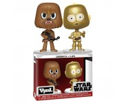 Chewbacca and C-3PO Vynl. из фильма Star Wars