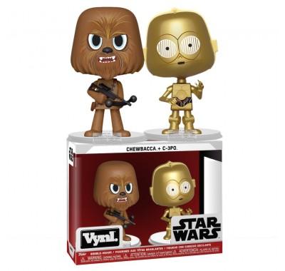 Чубакка и Си-Три-Пи-О Винл. (Chewbacca and C-3PO Vynl.) из фильма Звездные войны