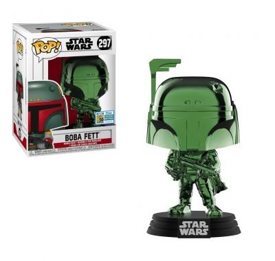 Боба Фетт зеленый хром (Boba Fett Green Chrome (Эксклюзив SDCC 2019)) из фильма Звездные Войны