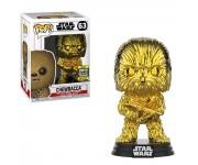 Chewbacca Gold Chrome (Эксклюзив Galactic Convention 2019) из фильма Star Wars