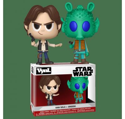 Хан Соло и Гридо Винл. (Han Solo and Greedo Vynl.) из фильма Звёздные войны