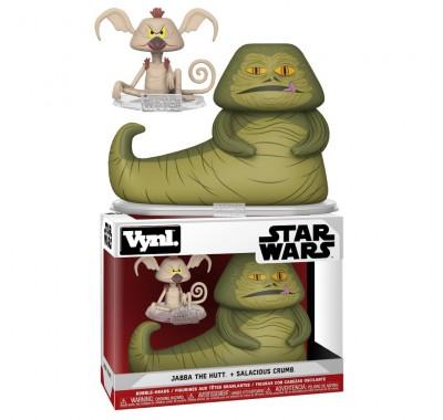 Джабба Хатт и Салациус Б. Крамб Винл. (Jabba The Hutt and Salacious Crumb Vynl.) из фильма Звездные войны