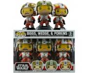 Biggs, Wedge and Porkins 3-pack (Эксклюзив) (preorder WALLKY P) из фильма Star Wars