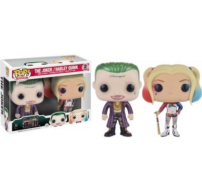 Джокер и Харли Квинн (Joker and Harley Quinn Metallic 2-pack (Эксклюзив)) из фильма Отряд Самоубийц ДС Комикс