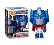 Optimus Prime Metallic со стикером (Эксклюзив Amazon) из мультсериала Transformers (1984) 22