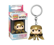 Wonder Woman Golden Armor Keychain из фильма Wonder Woman 1984