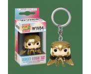 Wonder Woman Golden Armor Keychain из фильма Wonder Woman 1984