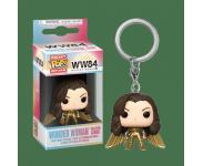 Wonder Woman Golden Armor with no Helmet Keychain из фильма Wonder Woman 1984