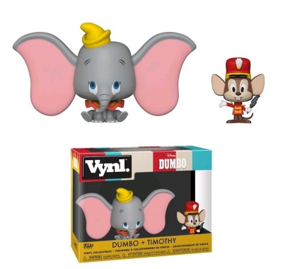 Дамбо и Тимоти Винл. (Dumbo and Timothy Vynl.) из мультфильма Дамбо