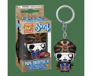 Papa Emeritus IV Metallic Keychain (Эксклюзив Hot Topic) из группы Ghost