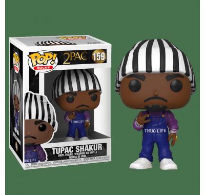 Тупак Шакур в комбинезоне (Tupac Shakur in Thug Life Overalls (PREORDER WALLKY) (Эксклюзив FYE)) из серии Музыканты