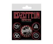 Led Zeppelin Symbols Badge Pack из серии Rocks