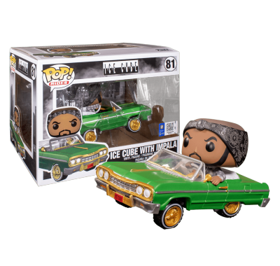 Айс Кьюб на импале райд (Ice Cube in Impala Rides) из серии Музыканты