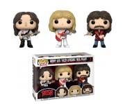 Geddy Lee, Alex Lifeson and Neil Peart 3-Pack (Эксклюзив Fan Expo Canada) из группы Rush