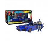 Batmobile Blue with Batman NYCC 2017 (Эксклюзив) из комиксов DC Comics