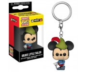 Mickey Mousey Brave Little Tailor keychain из мультиков Mickey's 90th