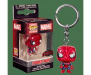 Spider-Man Metallic Keychain (Эксклюзив Box Lunch) из комиксов Marvel