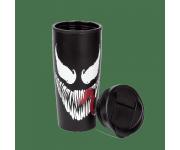 Venom Face Metal Travel Mug Pyramid из комиксов Marvel