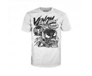 Venom Comic Collage T-Shirt (размер M) из комиксов Marvel