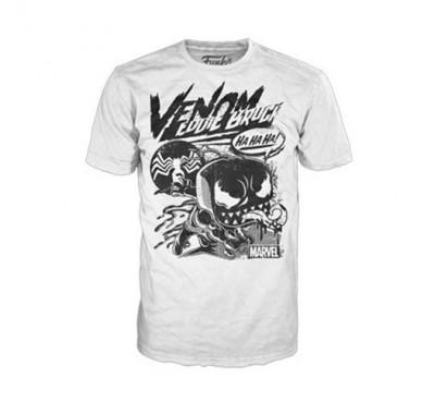 Веном комиксовый коллаж майка (Venom Comic Collage T-Shirt (размер M)) из комиксов Марвел